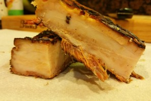 Roasted Wild Boar Belly